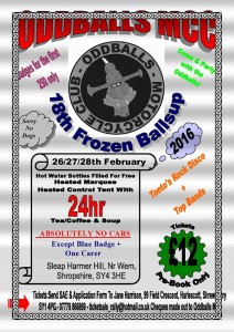 Oddballs Frozen Ballsup Flyer