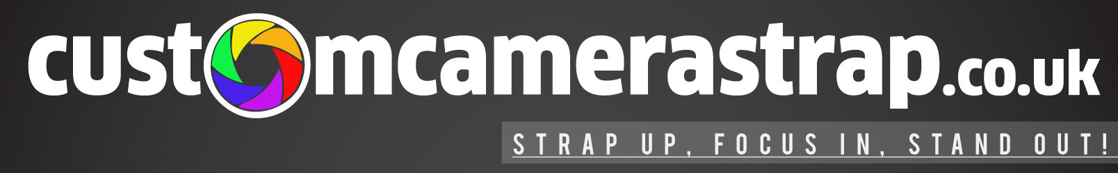 Custom Camera Strap – design your own personalised DSLR camera neck strap