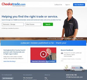 Checkatrade Website